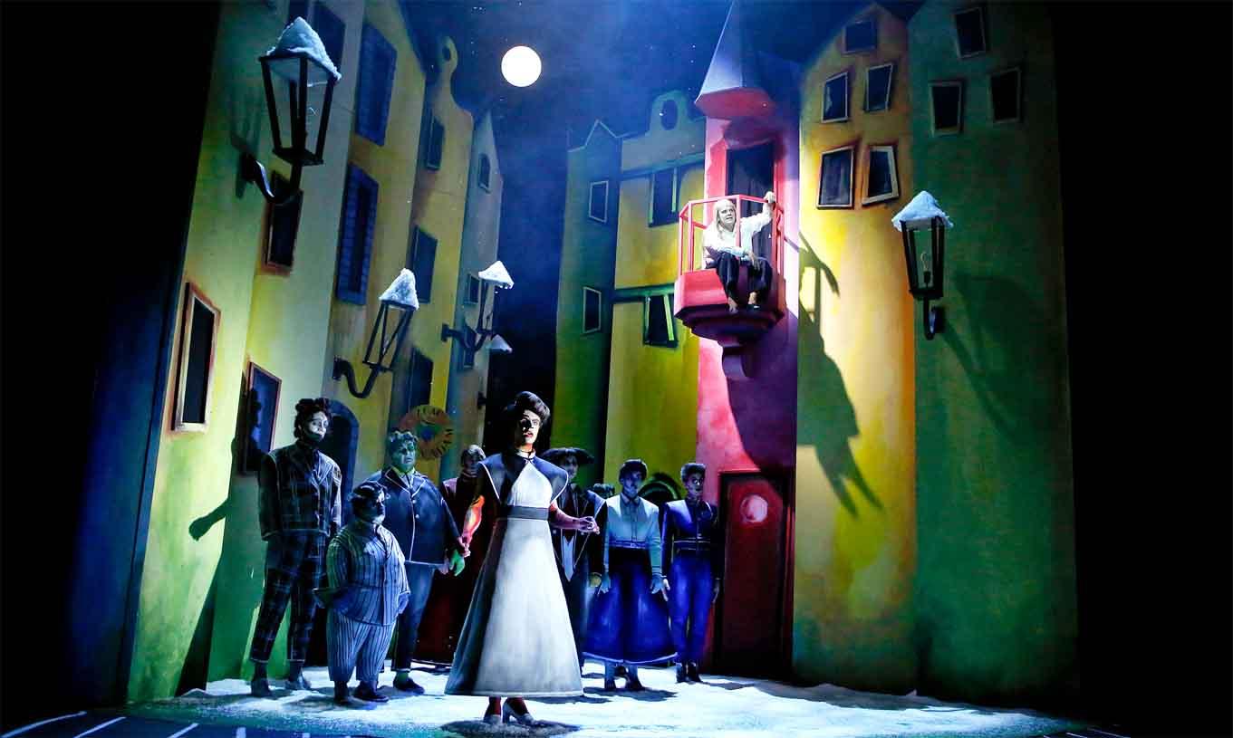 Theater in Gestalt des expressionistischen Films