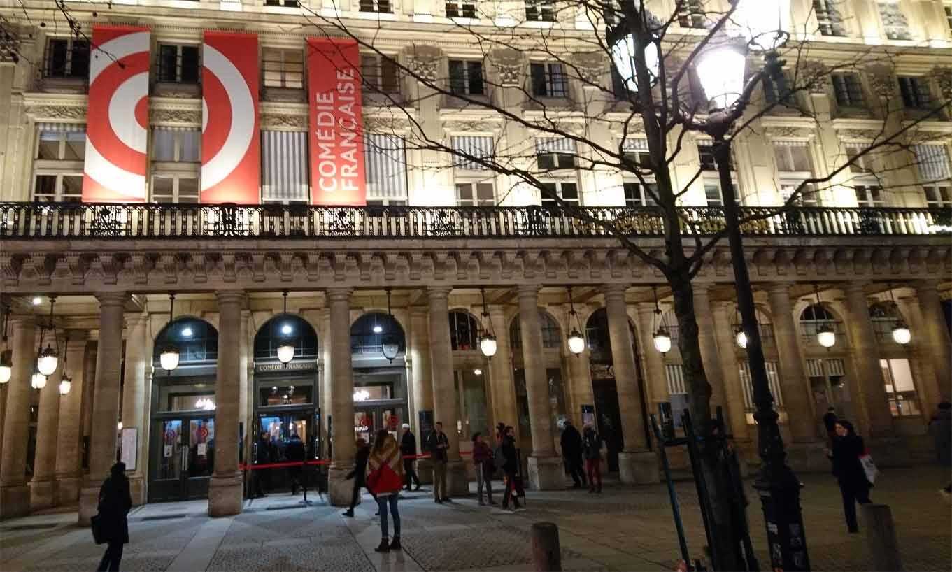 Der Eingang zu Frankreichs Traditionstheater