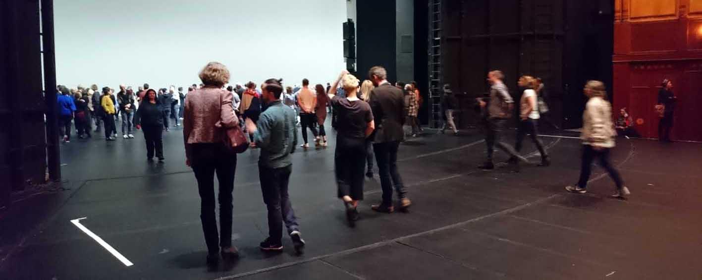 Das Publikum erobert die Bühne