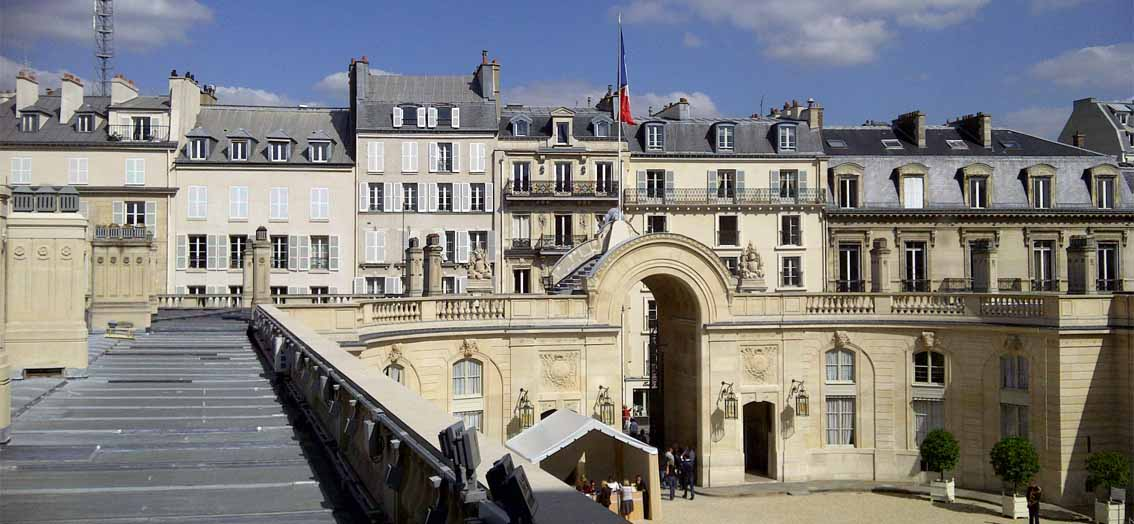 Das Palais de l'Élysée