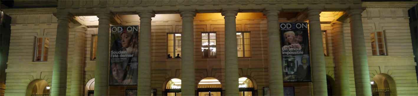 Das Odéon Théâtre de l'Europa hätte bei einem Wahlsieg Le Pens einiges zu befürchten.
