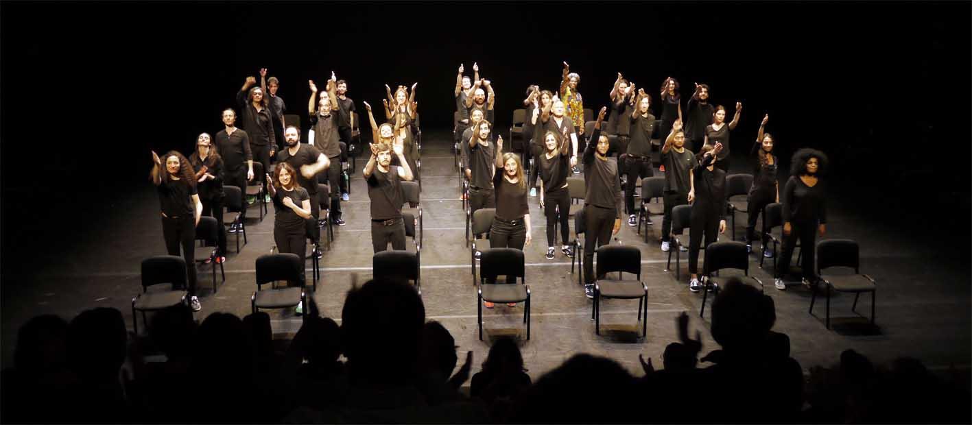 Das Theaterensemble als Modell der französischen Gesellschaft