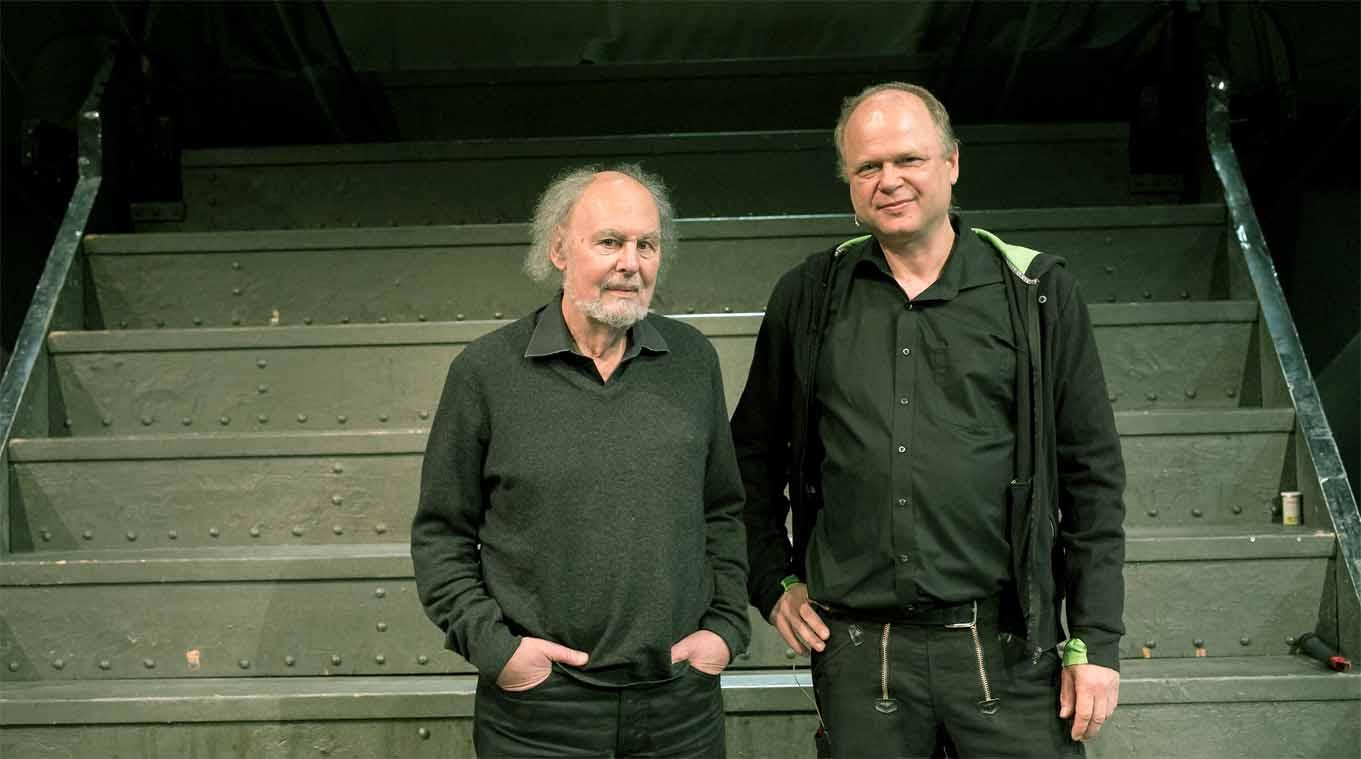 Voker Ludwig und Philipp Harpain