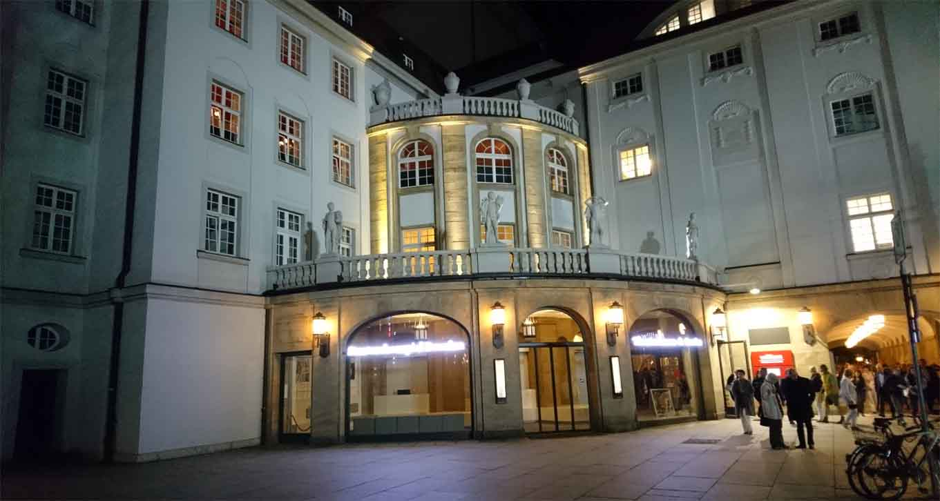 Das Staatsschauspiel in Dresden